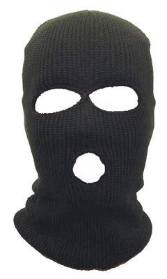 Goon Nb 48 By Jolinshop three knit ski mask black 3056 island