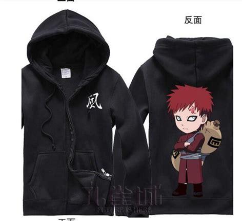 Jaket Style Coklat Gaara anime s costume gaara coat jacket sweatshirt hoodie