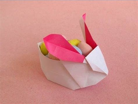 origami bunny box 17 best ideas about origami hase on origami