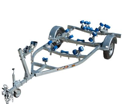 boat trailer quad rollers suits boats from 3 5m 9 0m