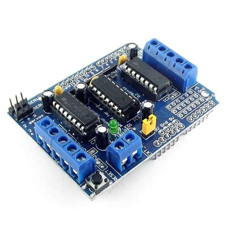 Diskon L293d Shield Motor Driver L293 Arduino 293 motor shield driver l293d paso a paso dc servo arduino