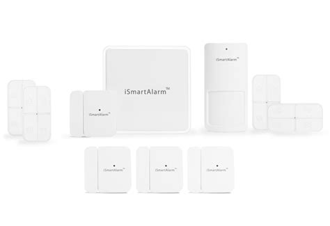 ismartalarm iphone controlled home security system