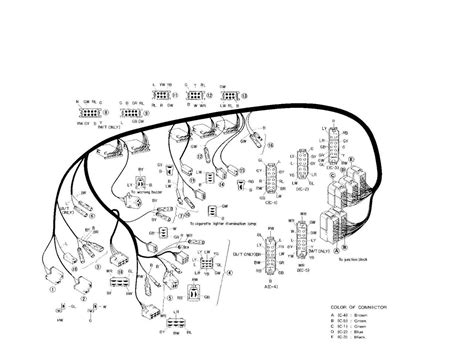 1978 datsun 280z color wiring diagram 1978 ford mustang