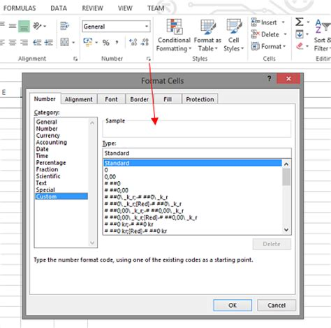format cells in excel 2007 custom excel auto sums and custom number format a kalmstrom com tip