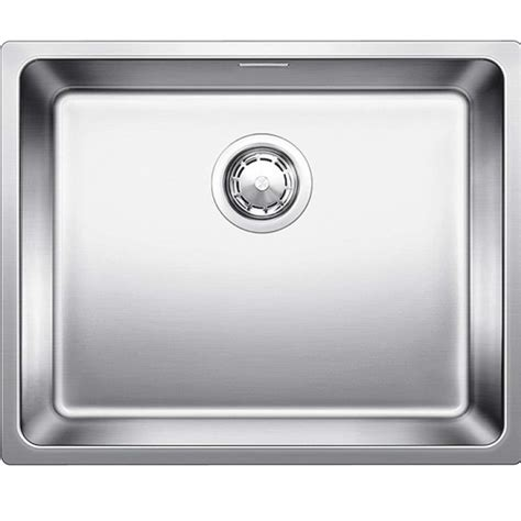 blanco stainless steel sink blanco andano 500 if stainless steel sink kitchen sinks
