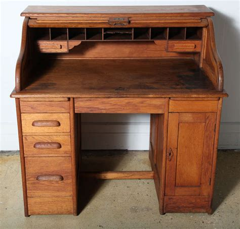 Roll Top Desk Lock Set by Victor Safe And Lock Oak Roll Top Desk For Sale At 1stdibs