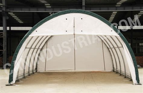 xx portable fabric storage building tent temp