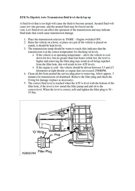 How To Check Transmission Fluid On 2002 Ford Explorer 2002 Ford Fairlane Slipping Problem Occurred Instantly