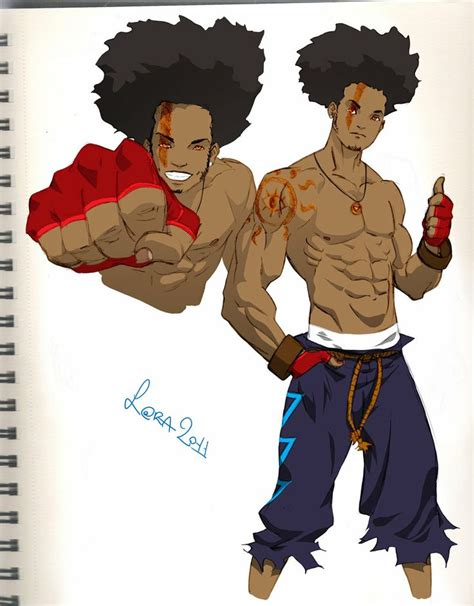 black characters black anime characters with dreads www imgkid the