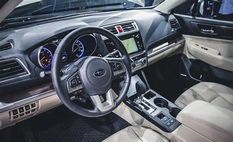 subaru outback interior 2015 car and driver