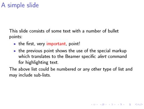 latex tutorial tutorials point writing beamer presentations in org mode