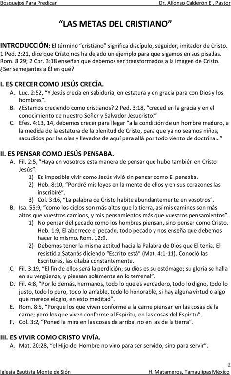 sermones escritos listos para predicar predicaciones escritos en pdf bosquejos escritos para