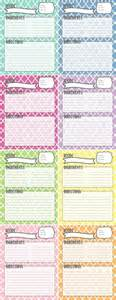 recipe binder templates 25 best ideas about recipe templates on