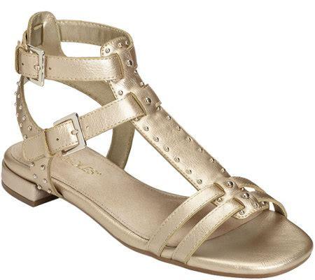 aerosoles gladiator sandals aerosoles gladiator sandals showdown qvc