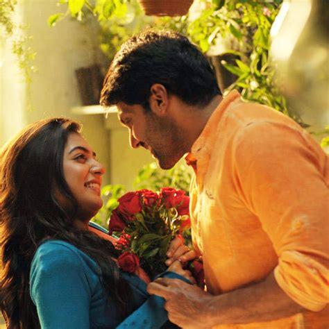 raja rani heroine photos download nazriya nazim and arya in a still from the tamil movie