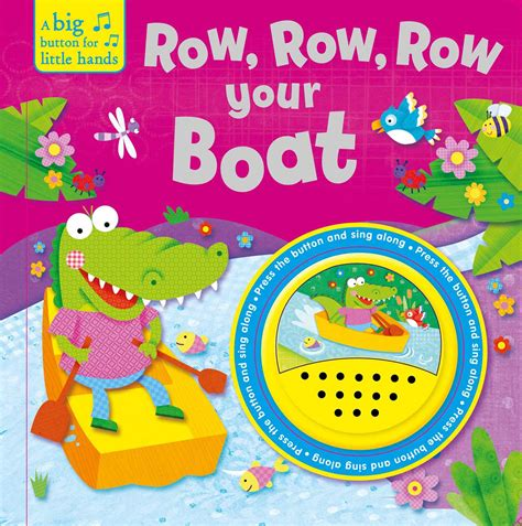row row your boat sound book row row row your boat book by igloobooks official