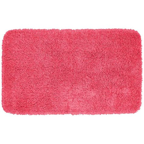 accent rugs for bathroom garland rug jazz pink 30 in x 50 in washable bathroom