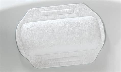 poggiatesta vasca da bagno cuscino poggiatesta per vasca da bagno groupon goods