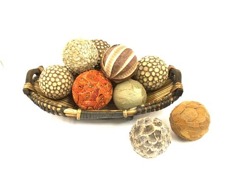 home decor balls natural decorative balls natural materials
