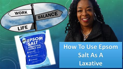 Epsom Detox For A Laxative by How To Use Epsom Salt As A Detox Laxative