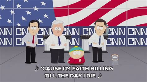 Faith Hilling Meme - music video us flag gif by south park find share on giphy