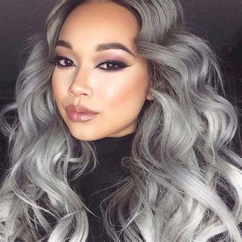 young black women with gray hair styles 40 cortes y peinados para esta temporada mujer chic