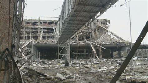 cnn goes inside destroyed ukrainian airport cnn video