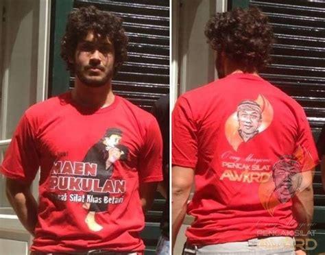 t shirt collections o ong maryono pencak silat award