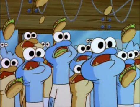 Room With Tv Spongebuddy Mania Spongebob Characters Anchovies
