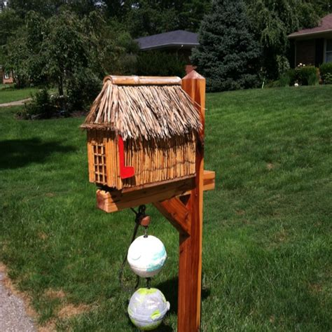 Tiki Hut In A Box 1000 Images About Tiki Hut Mailbox On