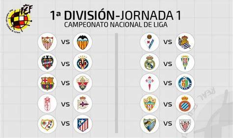 Calendrier Liga Liga 2014 2015 Le Calendrier D 233 Voil 233 Foot Espagnol