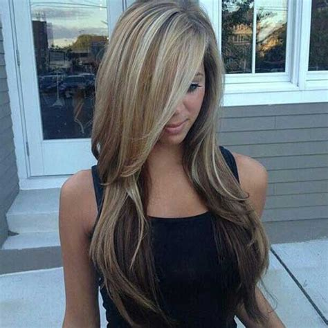 hairstyle that is light on top and dark on bottom 35 long layered cuts hairstyles haircuts 2016 2017