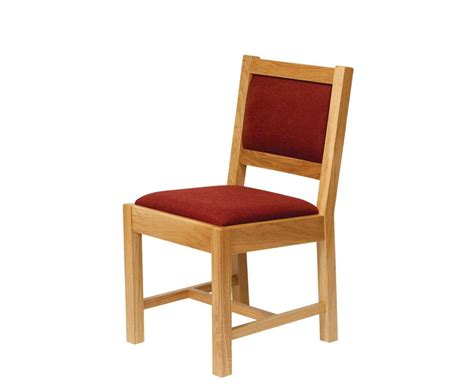 Church Chairs by Bespoke Church Chair With Upholstered Seat And Back