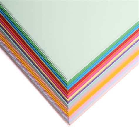 Papers For Card - a4 160gsm thin coloured card