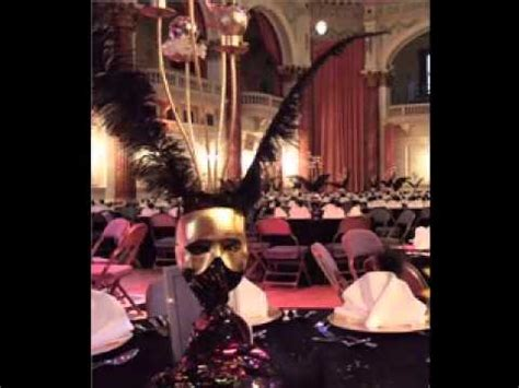 How To Decorate For A Masquerade Themed by Masquerade Decorating Ideas