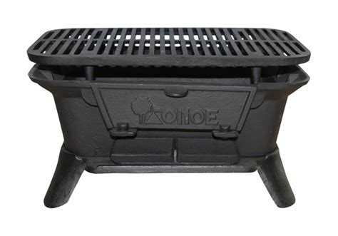 cast iron firepits cast iron bbq pit cast iron barbecue cing cooker