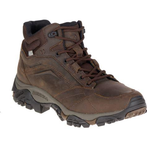 mens hiking boots waterproof merrell s moab adventure mid waterproof hiking boots