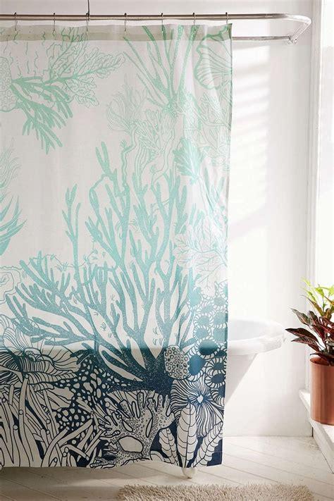 coral reef shower curtain best 25 mermaid shower curtain ideas on pinterest