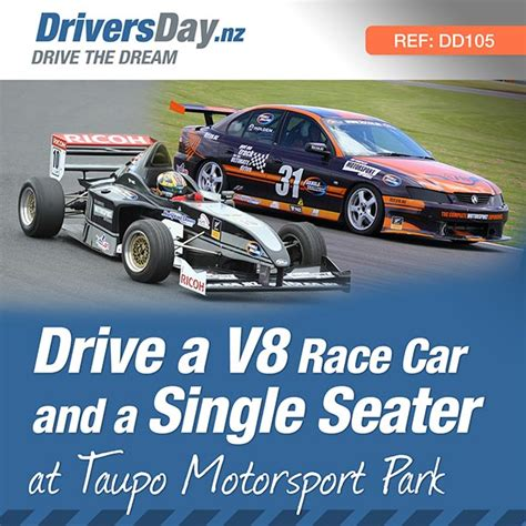 motorsport nz calendar drive a v8 race car and single seater at taupo drivers day