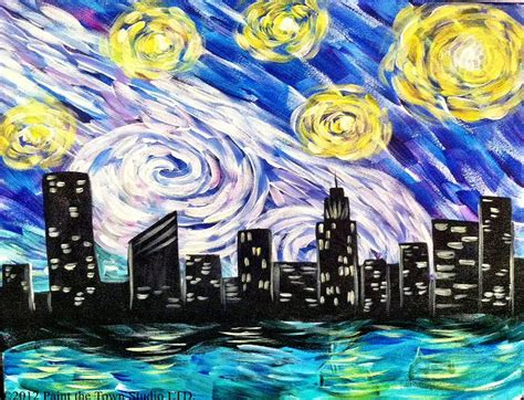 paint the nite nyc paint the town starry nyc