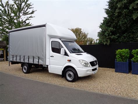 curtain vans for sale mercedes sprinter curtain side luton van for sale vantastic