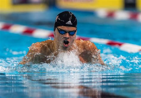 sectionals swimming cuts michael andrew wins two on night three of columbia sectionals