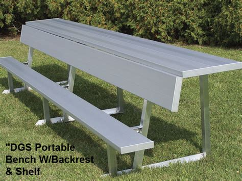 aluminum sport benches benches with aluminum legs national recreation systems