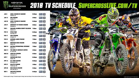 what channel is ama motocross on tv listings supercross live