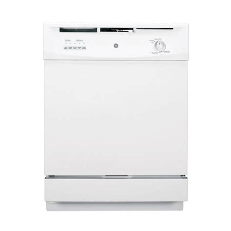 ge front dishwasher in white gsd3300kww the home