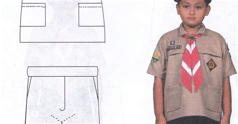 Baju Pramuka Siaga Lengan Pendek Seragam Sekolah No 6789 ensiklopedia pramuk seragam harian pramuka siaga putra