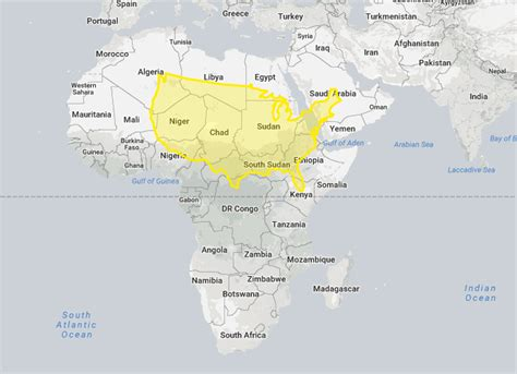 the quot true size quot maps shows you the real size of every