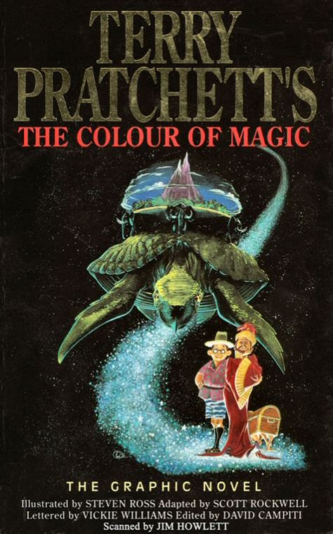 the color of magic the colour of magic book covers