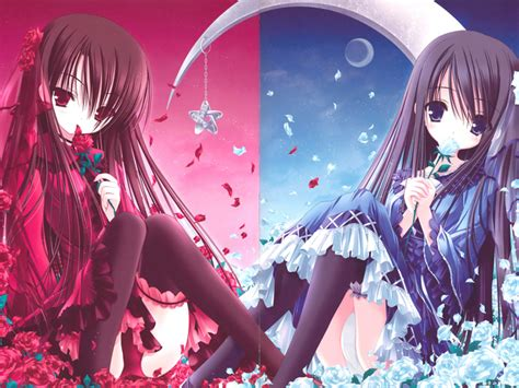 wallpaper anime twins anime twins images anime twins wallpaper and background