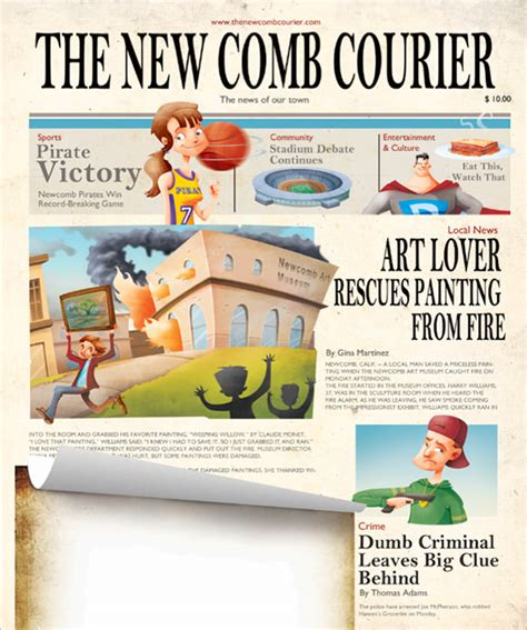newspaper layout explained kids newspaper template 11 free psd indesign eps